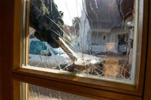 Einbruch Fenster