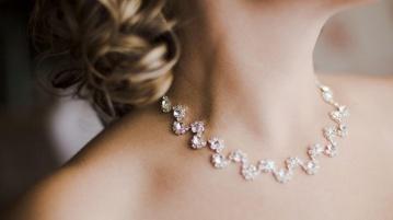 Hochzeit Halskette Braut