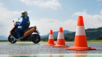 Fahrstunde Motorroller