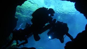 Tauchkurs Höhle